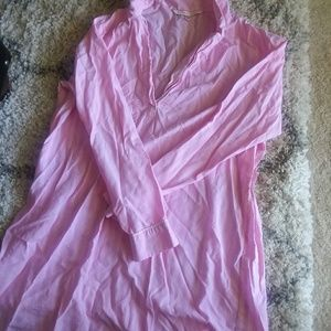 Victoria's Secret pink nightgown